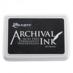 Tampone Ranger Archival Ink - Jet Black