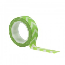 Washi Tape - Kesi'Art - Chevrons Green