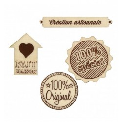 Abbellimenti in legno Artemio - Creazione Artigianale