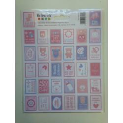 Stickers Artemio francobollo - Bimba