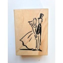 Timbro in legno Artemio - Sposi