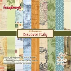 ScrapBerry's 6x6 pad - Discover Italy