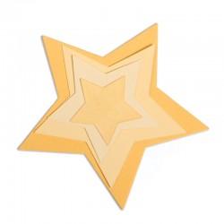 Fustella Sizzix Framelits - Stars