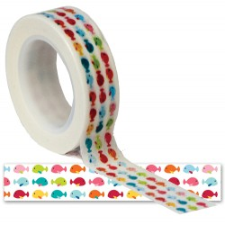 Washi Tape - Queen & Co - Summer Fishes
