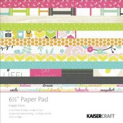 KaiserCraft 6.5x6.5 pad - Happy Snaps