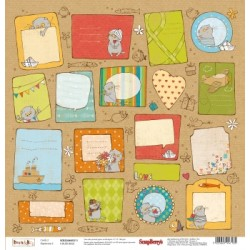 Carta ScrapBerry's - Basik & Ko - Cards 2