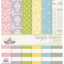 Kit carte Siple Stories - Enchanted - Simple Basic Kit