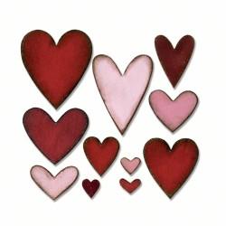 Fustella Sizzix Bigz T. Holtz  - Heartfelt