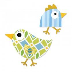Fustella Sizzix Bigz - Birds 3