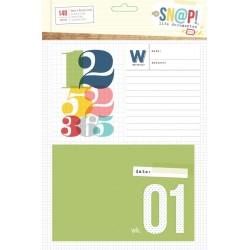 Simple Stories - Snap! - Week In Review Cards