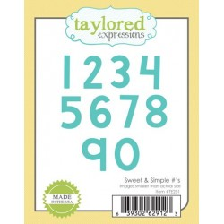 Fustella Taylored Expressions - Sweet & Simple