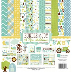 Kit carte Echo Park Bundle of Joy Boy - A New Addiction
