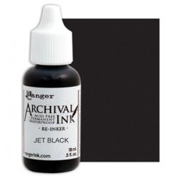 Flacone Inchiostro Ranger Archival Ink - Jet Black