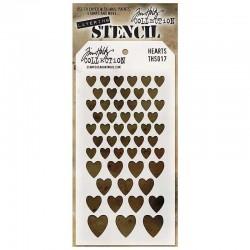 Stencil Tim Holtz - Hearts