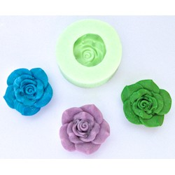 Wow! - Stampo in silicone - Large Rose