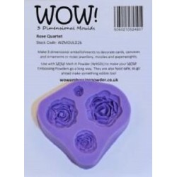 Wow! - Stampo in silicone - Rose Quartet