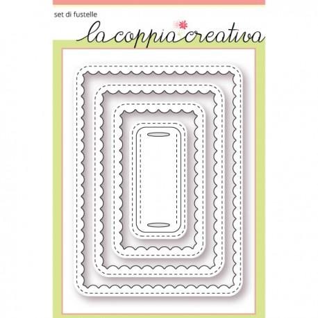 Fustella La Coppia Creativa - Cornici romantiche