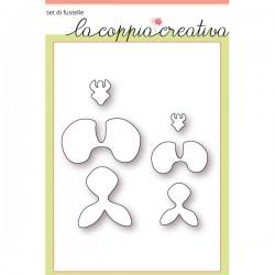 Fustella La Coppia Creativa - Orchidee