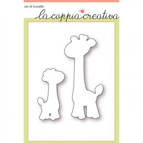 Fustella La Coppia Creativa - giraffe