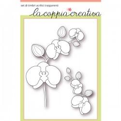 Timbri La Coppia Creativa - Orchidee