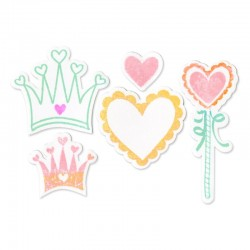 Fustella e Timbro Sizzix -  Princess