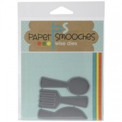 Fustella Paper Smooches - flatware