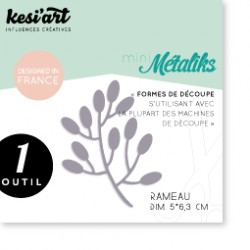 Fustella Kesi'Art - Métaliks Mini Rameau