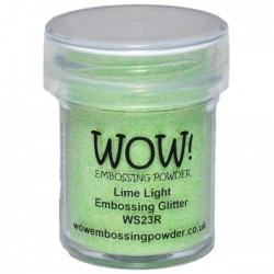 Wow! - Glitter Lime Light