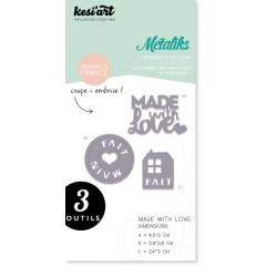 Fustella Kesi'Art - Métaliks Made With Love