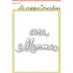 Fustella La Coppia Creativa - Cara Mamma