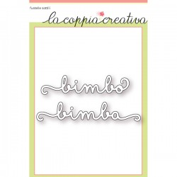 Fustella La Coppia Creativa - Bimbo Bimba