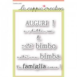 Timbri La Coppia Creativa - La Famiglia Cresce!