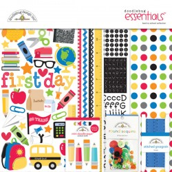 Kit carte Doodlebug design - Back to School