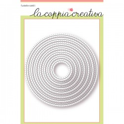 Fustella La Coppia Creativa - Cerchi Cuciti