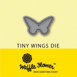 Fustella Waffle Flower - Tiny Wings Die