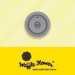 Fustella Waffle Flower - Tag Hole Reinforcer