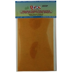 Double sided polyester ultra clear sheets - Stix2