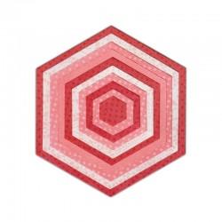 Fustella Sizzix Framelits - Hexagons