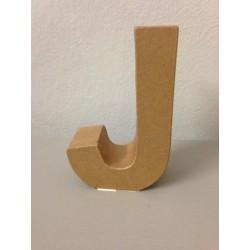 Lettera in Cartone Glorex - J