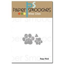 Fustella Paper Smooches - Paw Print