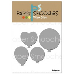 Fustella Paper Smooches - Balloons