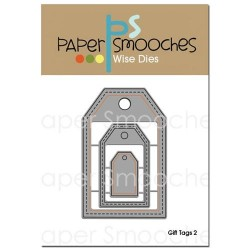 Fustella Paper Smooches - Gift Tags 2