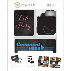 Kit Project Life - Chalkboard Kit