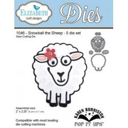 Fustella Elizabeth - Snowball The Sheep