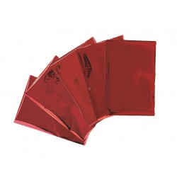Fogli metallici We R Memory Keepers - Heat Wave - Red