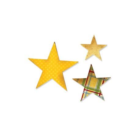 Fustella Sizzix Bigz - Stars
