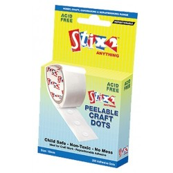 Peelable craft glue dots removable - Stix2