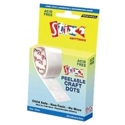 Peelable craft glue dots removable - Stix2