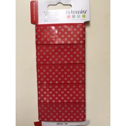 Nastro Artemio - Natale Rosso