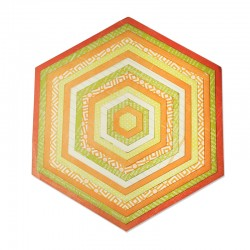 Fustella Sizzix Framelits Plus  - Hexagons